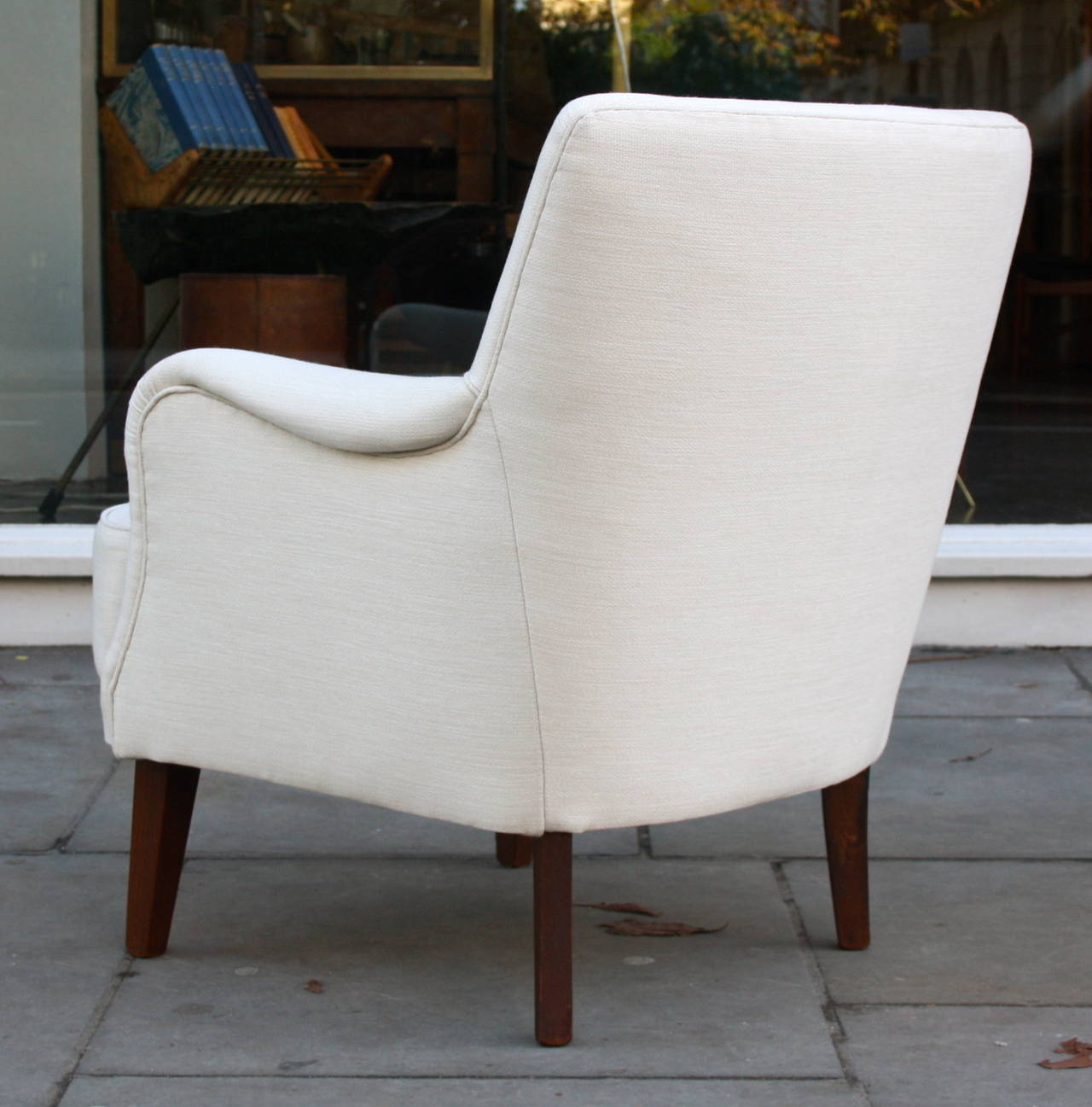 Small Arm Chairs Small Armchair By Peter Hvidt At 1stdibs