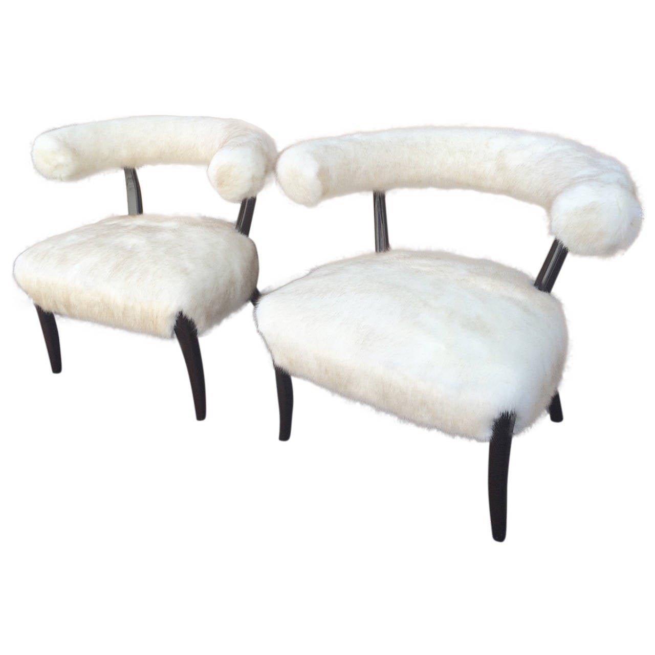 saucer chairs sam s club wheelchair shower pair of bergere attributed to nanna ditzel newly