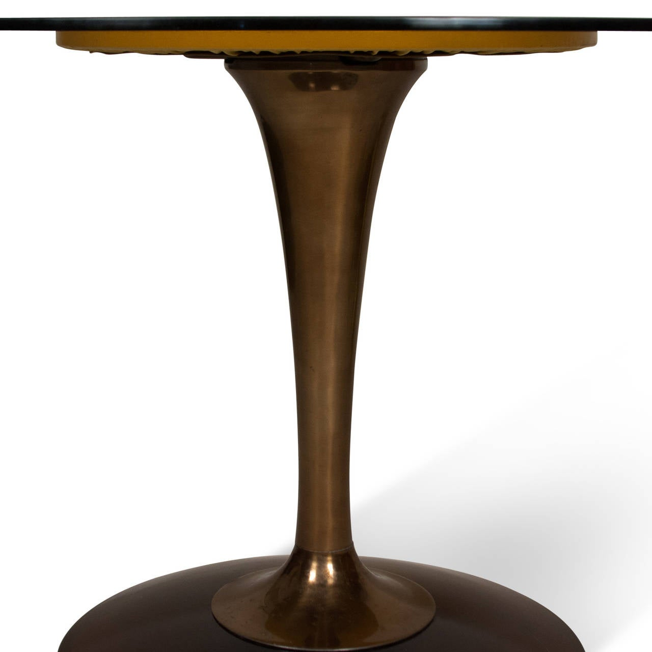 Tulip Table And Chairs Amber Glass Top Tulip Dining Table And Chairs For Sale At