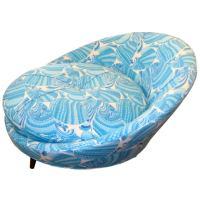 Milo Baughman Loveseat Chair at 1stdibs