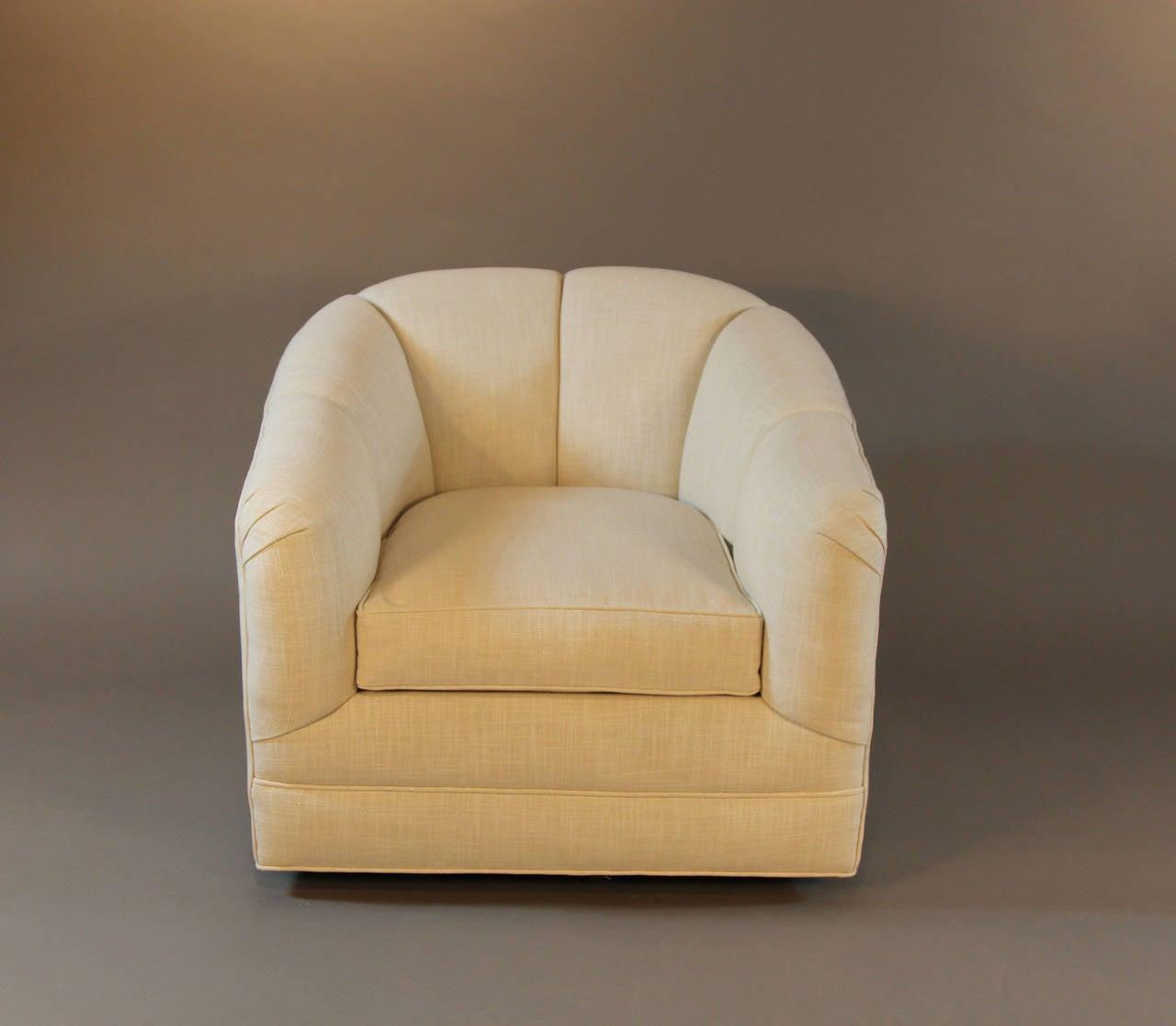 swivel tub chairs yamasoro ergonomic chair pair of 1970s at 1stdibs