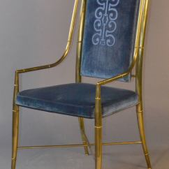 Bamboo Dining Chair Design Blog Mastercraft Brass Faux Set Of Eight Chairs