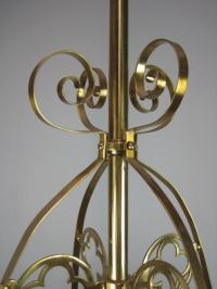 Gothic Ribbon Light Fixture (4-Light) at 1stdibs