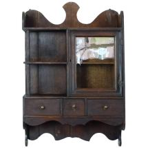 1920 Small Wall Hanging Apothecary Cabinet 1stdibs