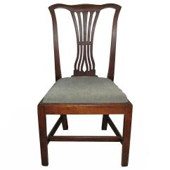 Chippendale Rocking Chair Teal Accent Side For Sale At 1stdibs