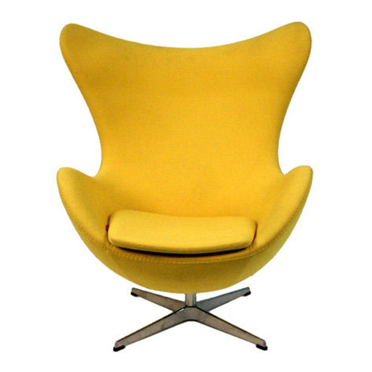 Original Arne Jacobsen Egg Chairs Fritz Hansen at 1stdibs