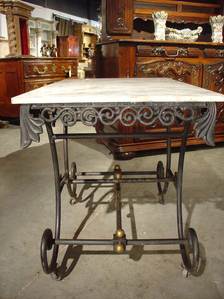 Early 1900's French Pastry Table at 1stdibs