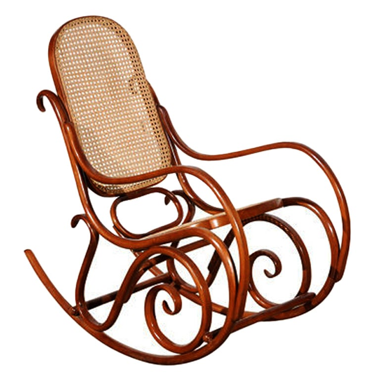 Thonet Bentwood Rocking Chair at 1stdibs