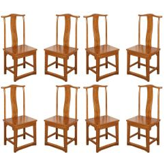 Set Of Chairs Baby Portable High Chair Eight Chinese Dining Room In Ming Style For