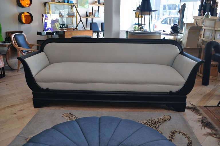 early american style sofas love c. 1920's empire sofa at 1stdibs