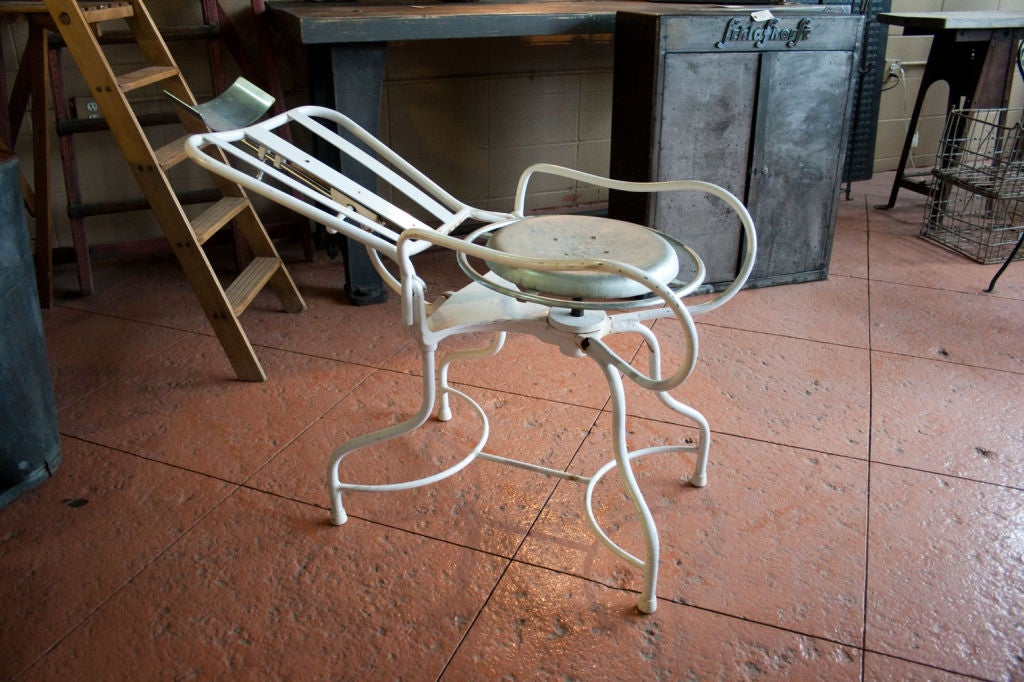 used barber chairs for sale poly banquet chair covers vintage 1930's dentist at 1stdibs