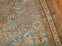 Powder Blue Antique Persian Afshar Rug at 1stdibs