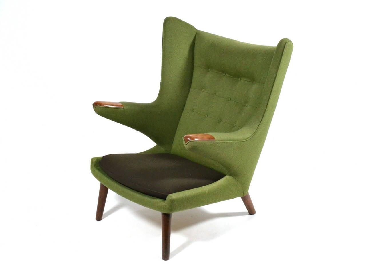papa bear chair folding butterfly hans wegner for sale at 1stdibs