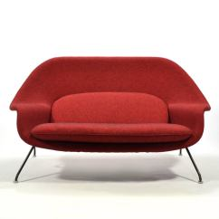Design Within Reach Womb Chair Farmhouse Dining Settee Hivemodern Com Eero Saarinen