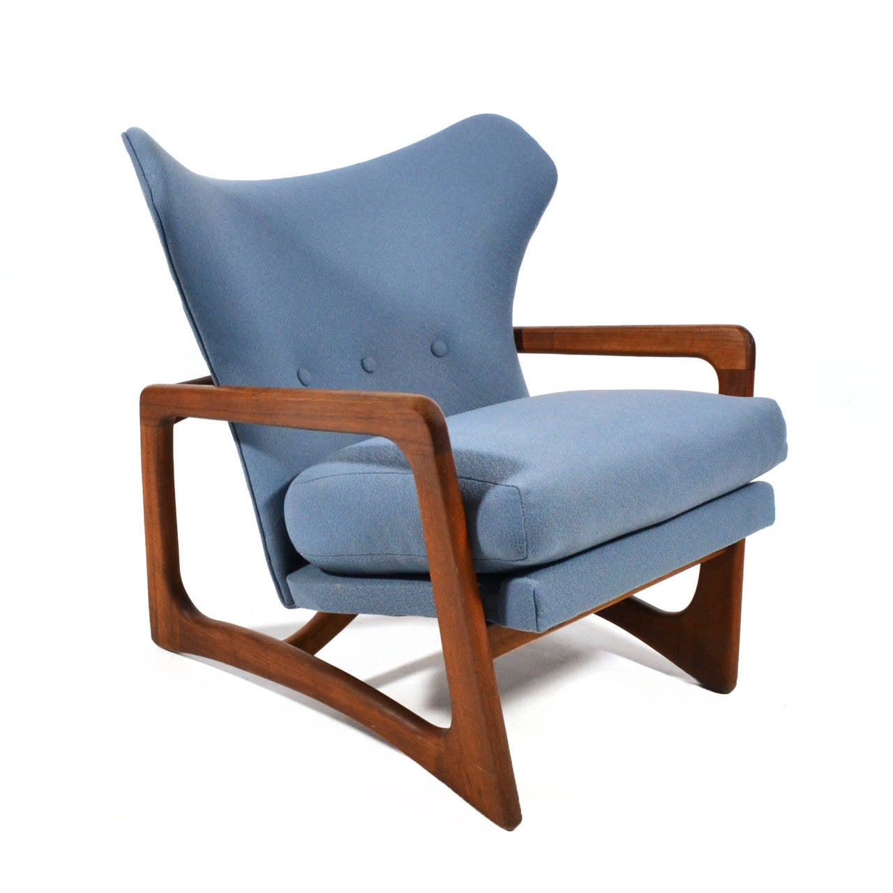 adrian pearsall lounge chair oversized arm wingback by craft associates