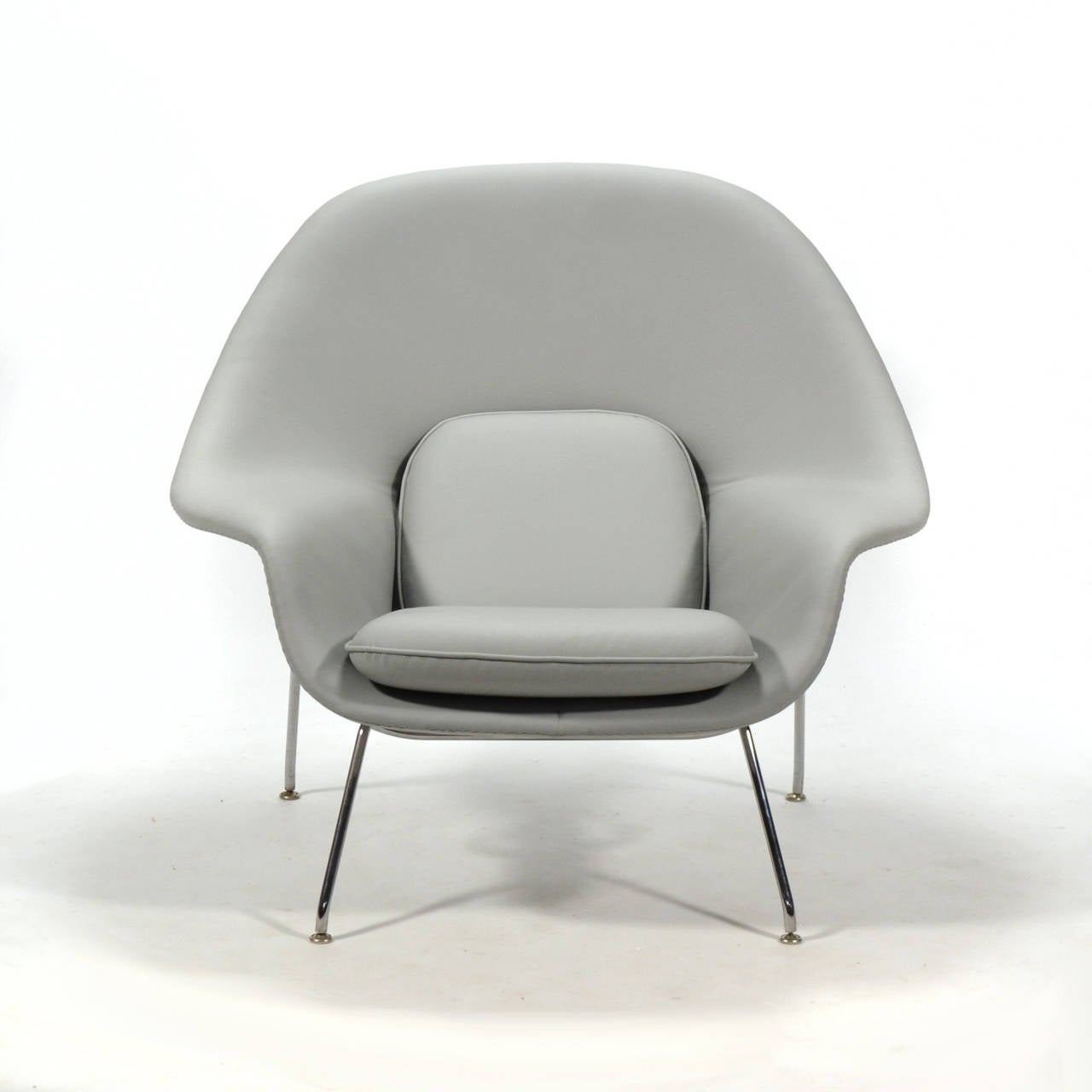 knoll saarinen chair desks and chairs eero womb ottoman in leather by