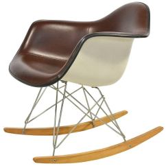 Rocking Chair Baby Antique Oak Dining Chairs Eames Rocker Rar By Herman Miller For Sale At 1stdibs