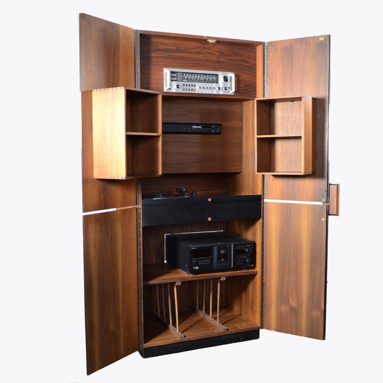 Richard Thompson Stereo Cabinet or Bar by Glenn of