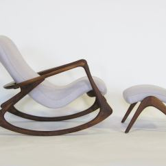 Rocking Chair With Footstool India Patio Plans Contour And Ottoman By Vladimir Kagan At 1stdibs