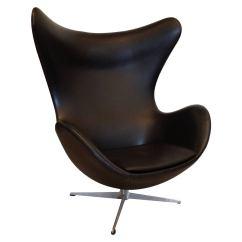 Vintage Egg Chair Fishing Gumtree Arne Jacobsen For Fritz Hansen At 1stdibs
