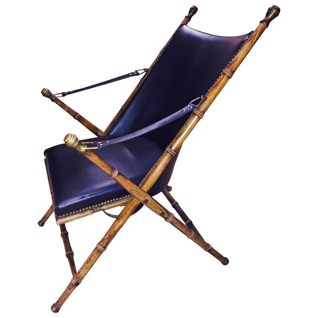 bamboo folding chair massage lease sculptural faux campaign at 1stdibs