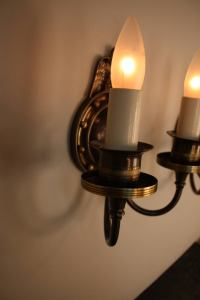 American Bronze Wall Sconces by Lightolier For Sale at 1stdibs