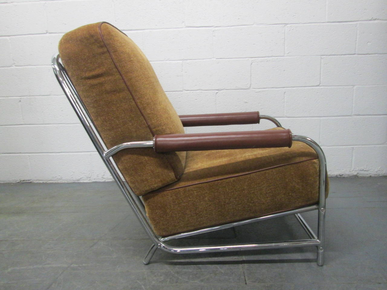 Chairs For Sale Streamline Chrome Lounge Chair After Gilbert Rohde For