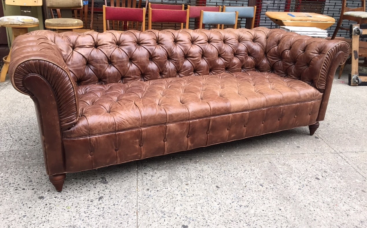 chesterfield leather sofa for sale modular perth gumtree vintage at 1stdibs