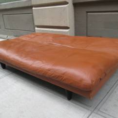 De Sede Sleeper Sofa Best Beds On The Market Leather Convertible By For Sale At 1stdibs Back Slides Down To Convert Into A Comfortable