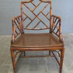 Chinese Chippendale Chairs Uk Outdoor Lounge Lowes Pair Of Faux Bamboo Style Armchairs For Sale At