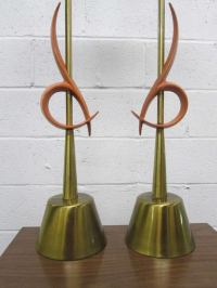 Pair of Large Rembrandt Table Lamps For Sale at 1stdibs