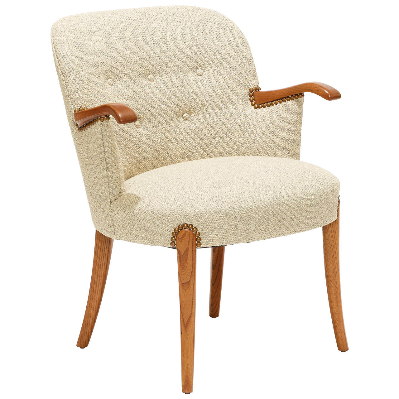 desk chair legs ergonomic office reviews with oak arms and by otto schulz at 1stdibs