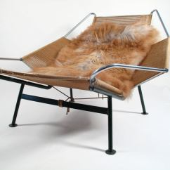 Flag Halyard Chair Rocker Recliner Swivel Hans Wegner Lounge 1950 Denmark At 1stdibs