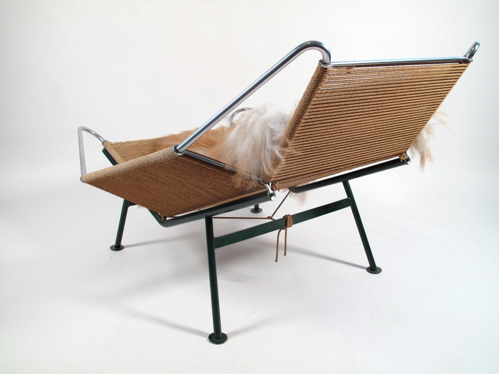 Flag Halyard Chair Hans Wegner Flag Halyard Lounge Chair 1950 Denmark At 1stdibs