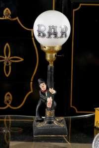 Charlie Chaplin Bar Lamp at 1stdibs