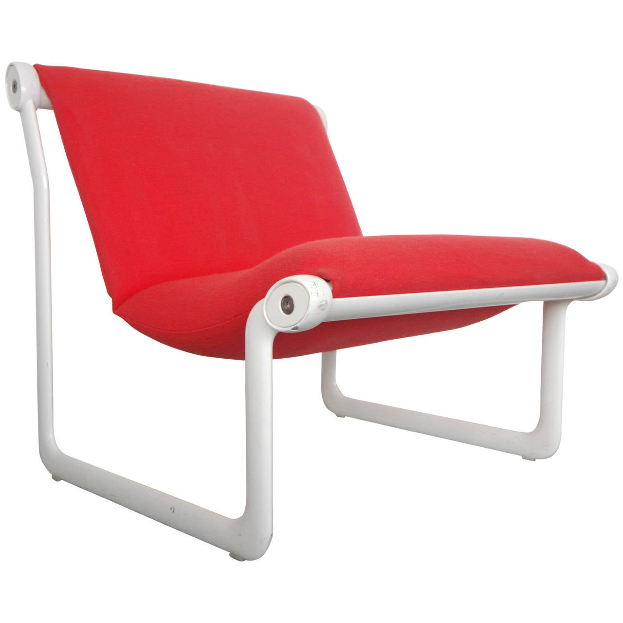 Knoll Egg Chair Knoll Hannah Morrison Sling Lounge Chair At 1stdibs