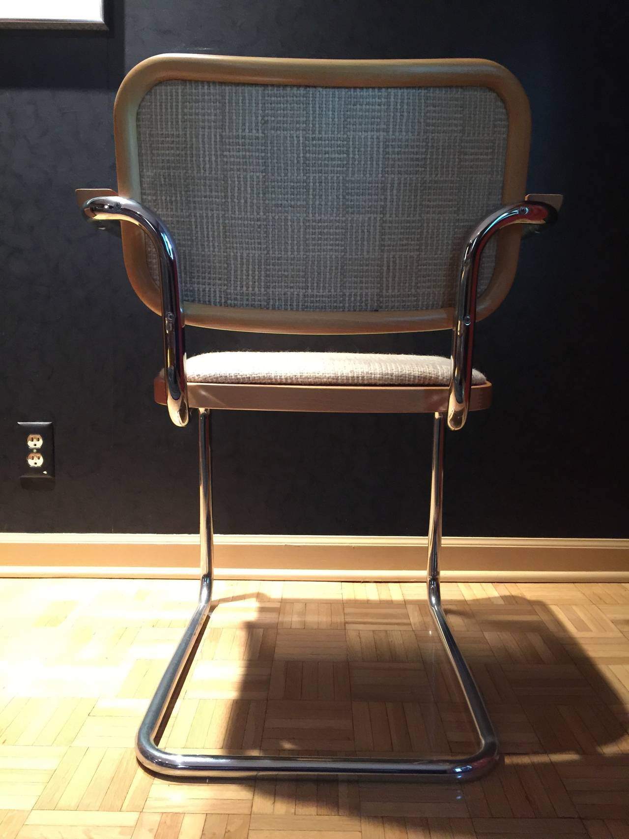 cesca chair replacement seats uk lifts for stairs with landings incredible set of ten chairs by marcel breuer