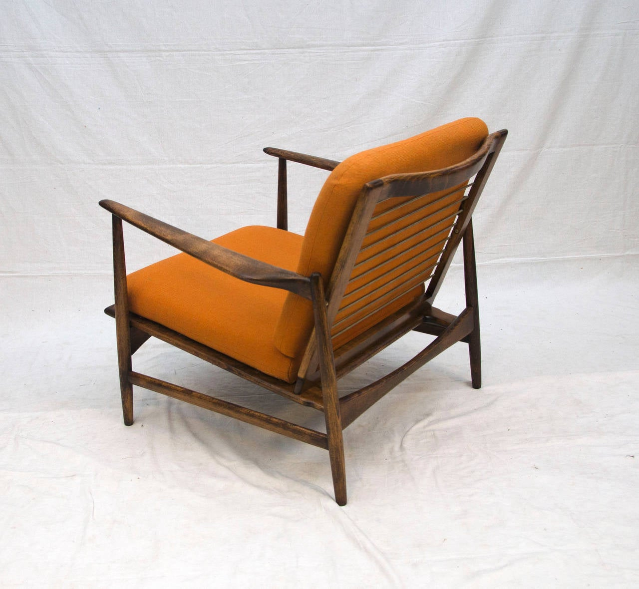 Selig Lounge Chair Danish Lounge Chair Selig Ib Kofod Larsen At 1stdibs