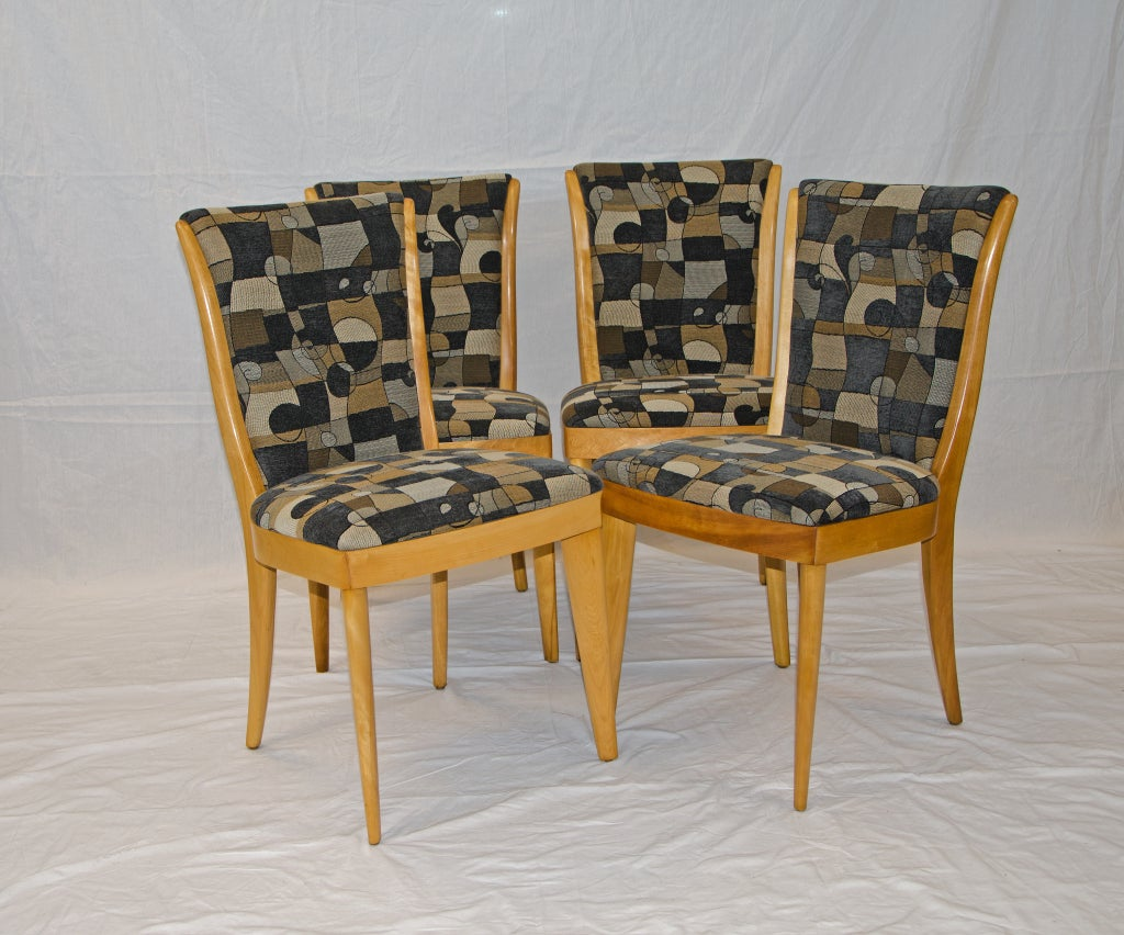 heywood wakefield dogbone chairs double chaise lounge chair set of eight 6 pictured dining