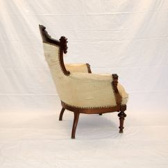 Victorian Parlor Chairs Toddlers Table And Set American Walnut Chair At 1stdibs