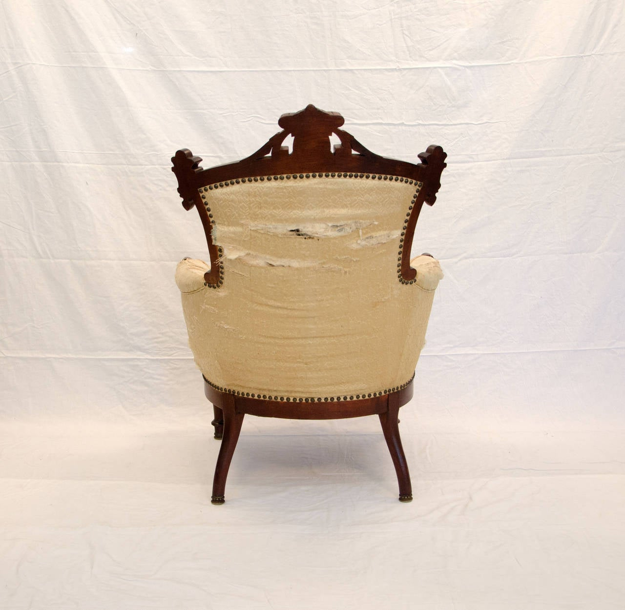 Antique Parlor Chairs American Walnut Victorian Parlor Chair