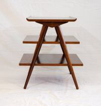 Mid-Century American of Martinsville Magazine End Table at ...