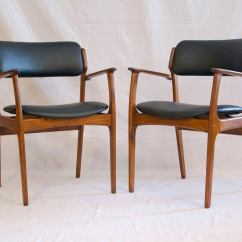Erik Buck Chairs Staples Office Chair Parts Set Of 12 Danish Teak Dining By At 1stdibs