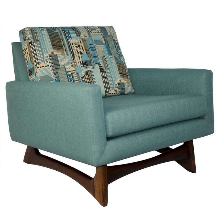 Mid Century Lounge Chair  Adrian Pearsall at 1stdibs
