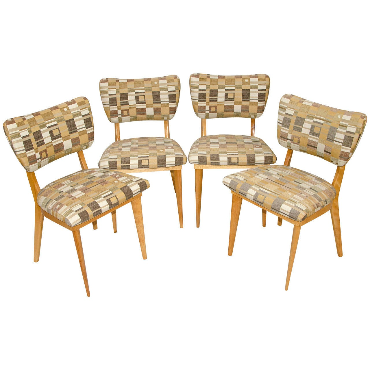 mid century dining chairs stool chair dream meaning four heywood wakefield for