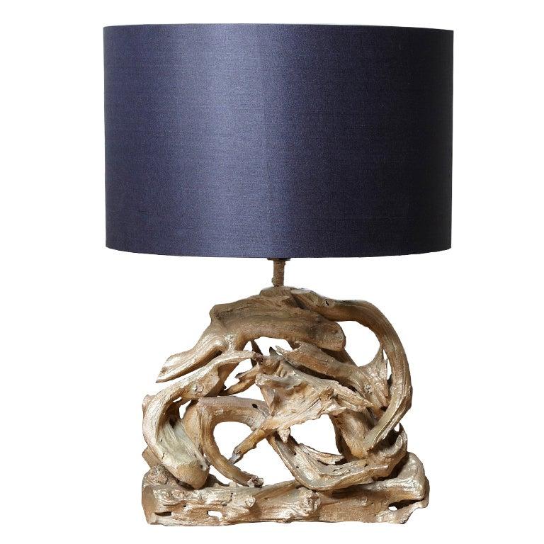 Large Driftwood Lamp At 1stdibs