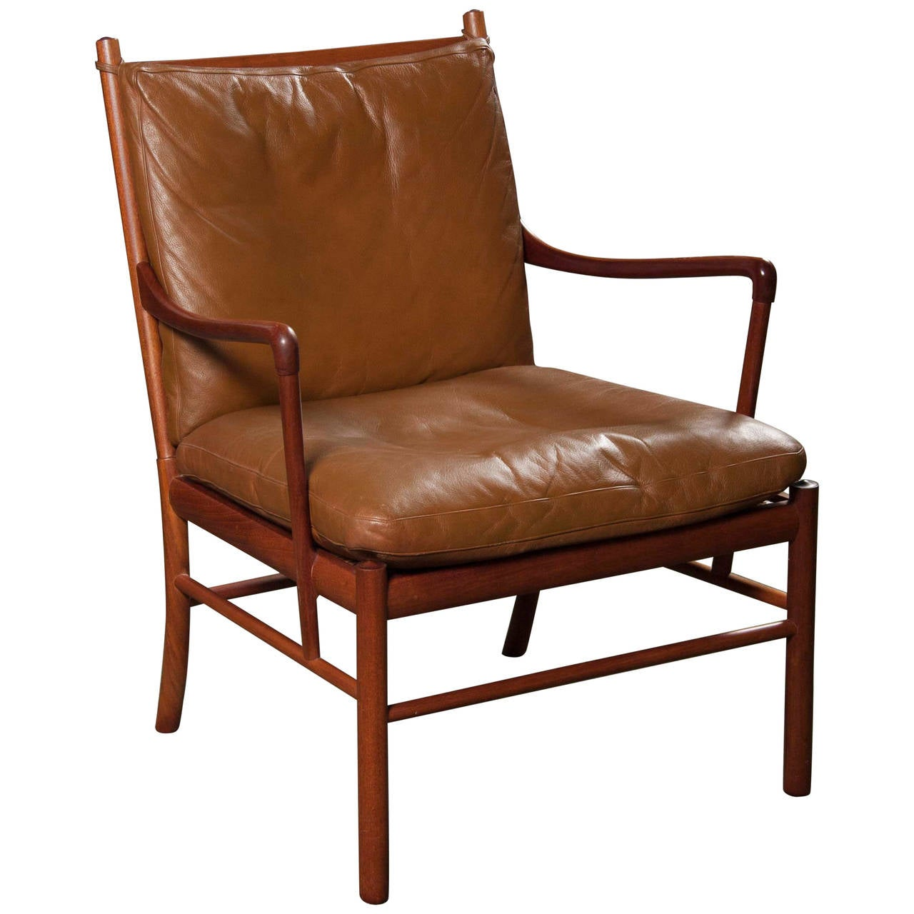 Colonial Chair Ole Wanscher Rosewood Colonial Chair Ow 149 At 1stdibs