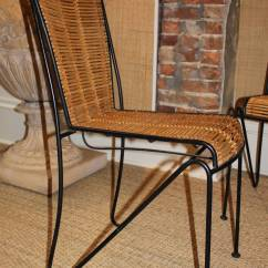 Bamboo Dining Chair Ergonomic Test Set Of Six Wrought Iron And Chairs