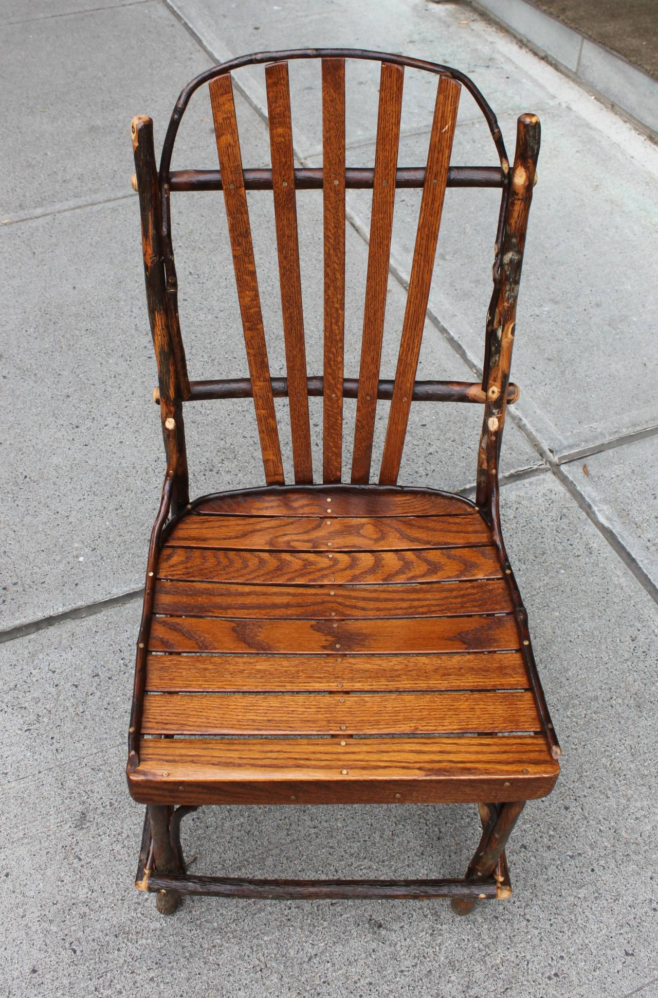 adirondack chairs made in usa herman miller refurbished set of four for sale at 1stdibs