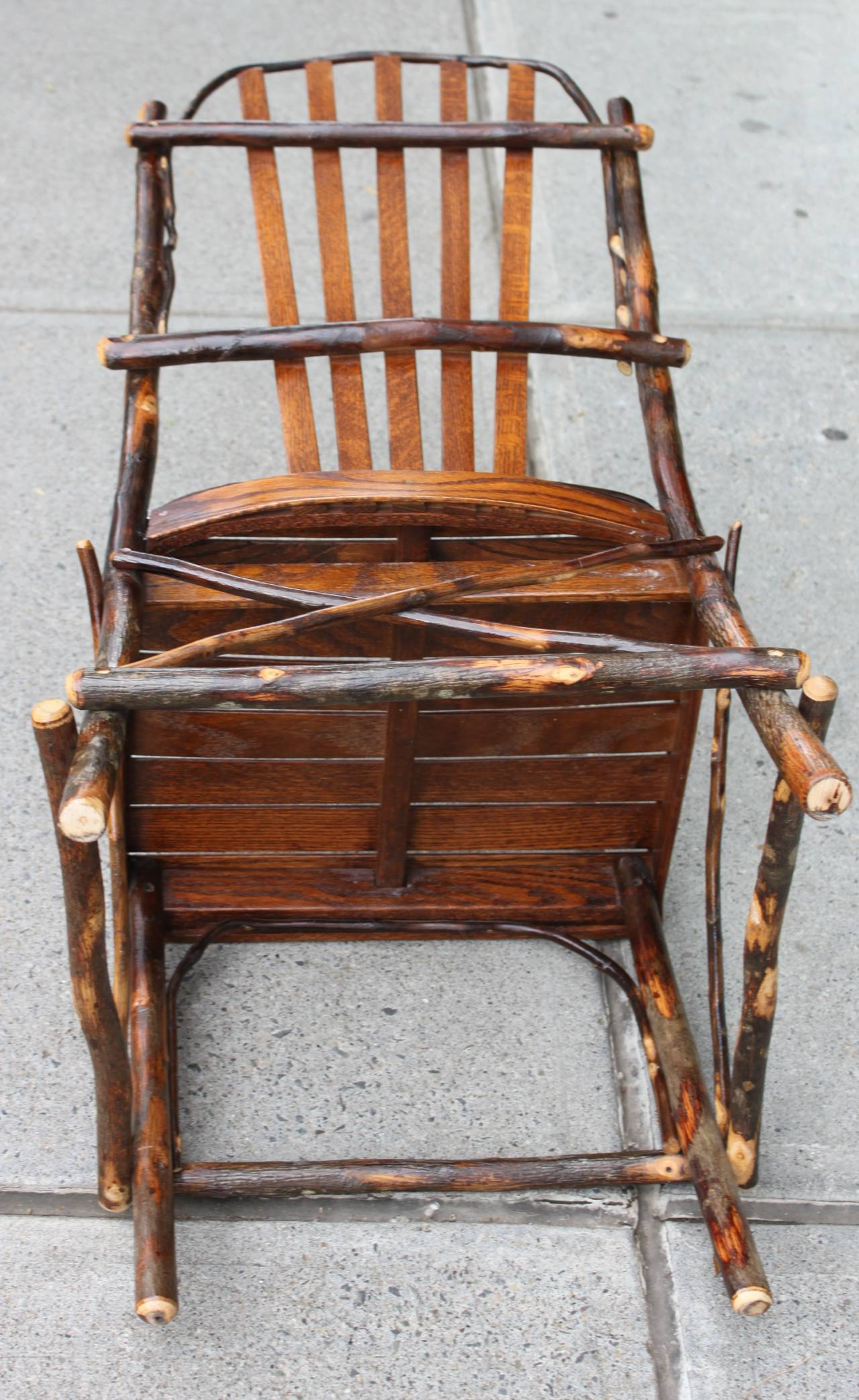 adirondack chairs made in usa outdoor folding camping set of four for sale at 1stdibs